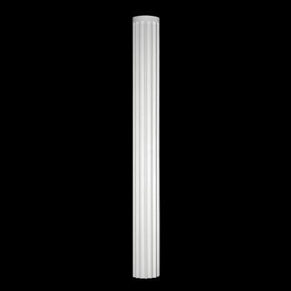 TĚLO POLOSLOUPU 1.16.010. Šířka 251 mm. Výška 2300 mm. Hloubka 126 mm
