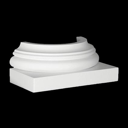 PATICE POLOSLOUPU 1.17.500. Šířka 130 mm. Výška 258 mm. Hloubka 110 mm.